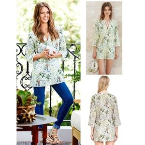 Tory Burch | Tomino Linen Tunic or Coverup